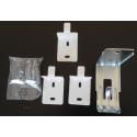 KIT fixation radiateur Droit FLUIDE/SEC